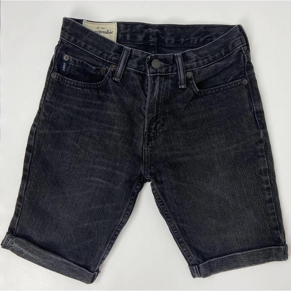 Abercrombie Kids Boys Cut Off Roll Hem Jean Shorts
